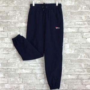 FILA | UO Windbreaker Track Pants Navy Blue